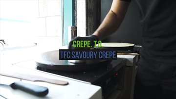 Savoury Crepe | Made With Econolease